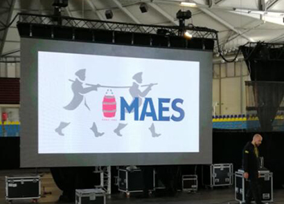 30SQM P6 Outdoor Rental Led Screen in Belgium