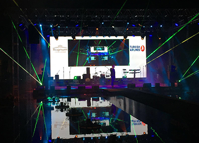 50SQM P3.91 Indoor Rental Led Screen In Turkey