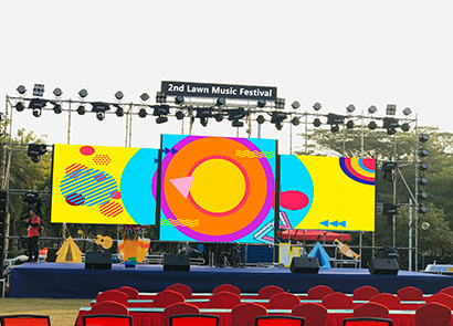 88SQM P4.81 Outdoor  Rental Led Screen in Malaysia